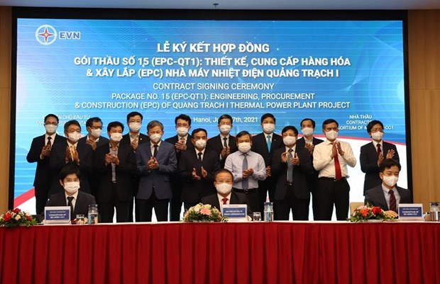 EPC contract signed for power plant in Quang Binh hinh anh 2