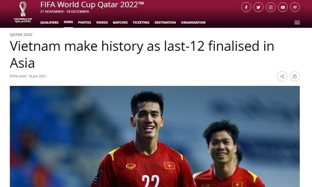 Vietnam makes biggest surprise at 2022 World Cup Asian qualifiers: FIFA hinh anh 1