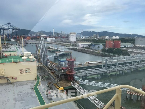PV GAS receives first LPG batch from Saudi Aramco hinh anh 1
