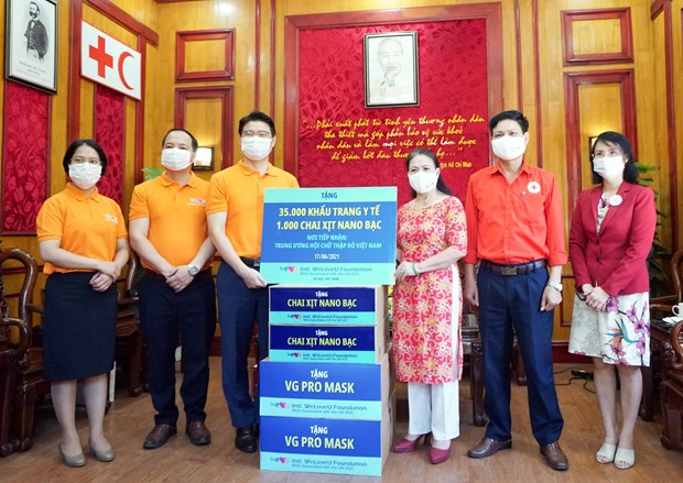 International WeLoveU assists Vietnam in combating COVID-19 hinh anh 1