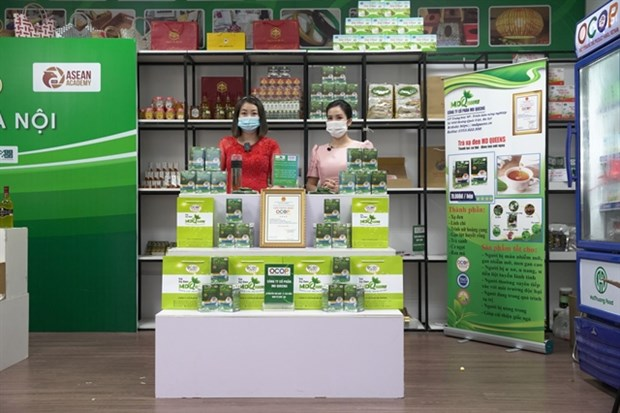 Hanoi promotes consumption of farming products amid COVID-19 hinh anh 1