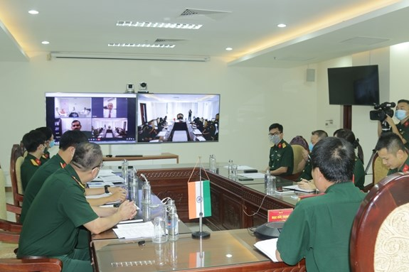 Vietnam, India forge cooperation in UN peacekeeping hinh anh 1