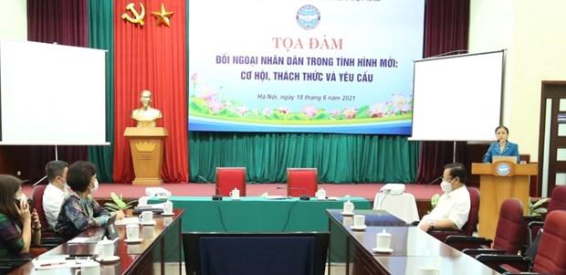 Seminar spotlights people's diplomacy in new context hinh anh 1