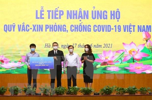 COVID-19 vaccine fund raises nearly 251 million USD hinh anh 1