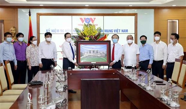 NA Vice Chairman congratulates VOV, VTV on Revolutionary Press Day hinh anh 1