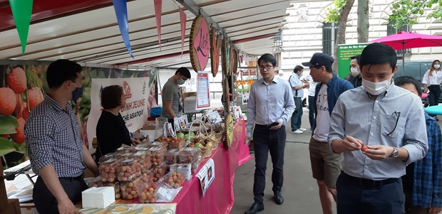 First outdoor Vietnamese cuisine festival held in Paris hinh anh 1