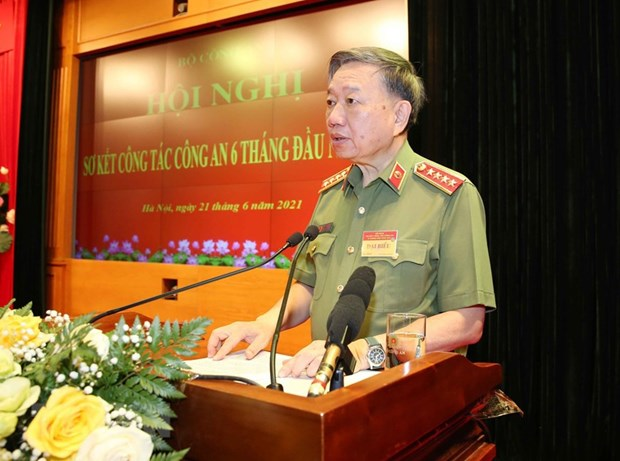 State President lauds public security forces hinh anh 2