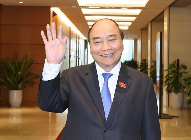 President Phuc congratulates newly-elected President of Iran hinh anh 1