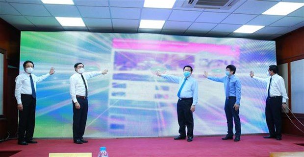 CPV e-newspaper launches new interface, mobile app hinh anh 1