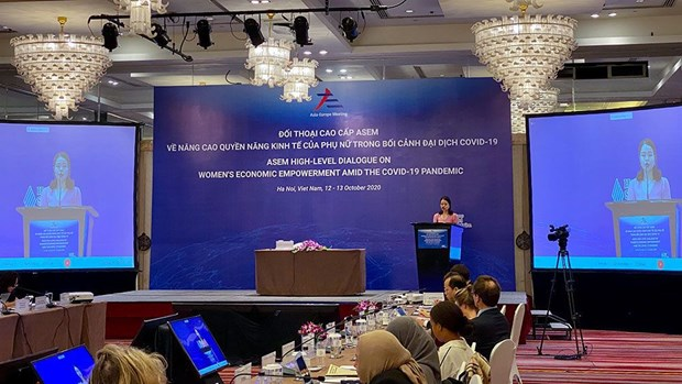 High-level policy dialogue marks 25th anniversary of ASEM hinh anh 4