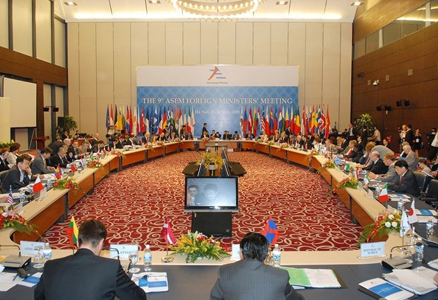 High-level policy dialogue marks 25th anniversary of ASEM hinh anh 3