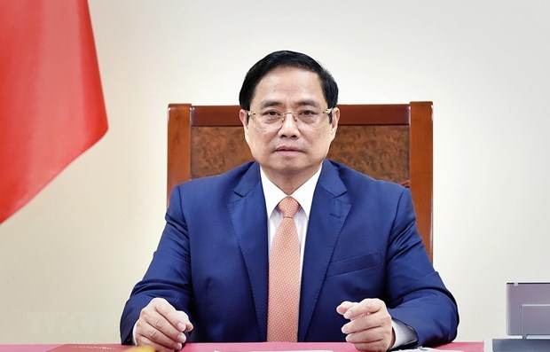 Prime Minister asks Germany to transfer COVID-19 vaccine technology hinh anh 1