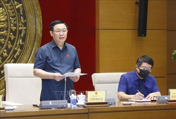 NA Chairman underlines importance of legislative studies hinh anh 1