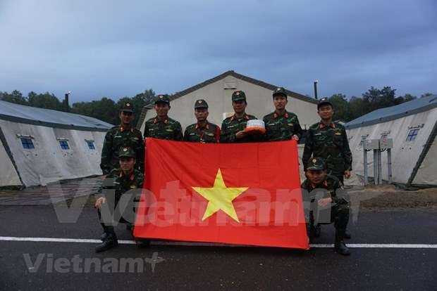 Vietnam's artillery team stands ready for 2021 Army Games hinh anh 1
