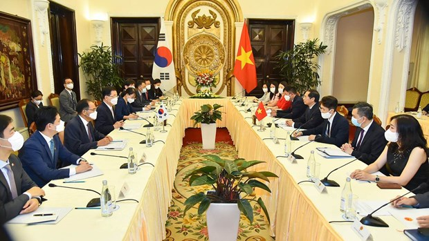 Vietnam, RoK seek to further advance ties hinh anh 1