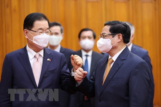 PM hails Vietnam visit by RoK Foreign Minister hinh anh 1