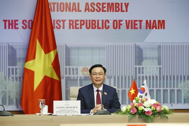 Vietnam ready to join RoK in lifting relations to new height: NA Chairman hinh anh 2