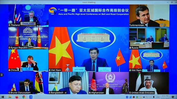 Vietnam attends Asia & Pacific High-level Conference on Belt & Road Cooperation hinh anh 1