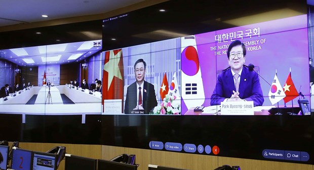Vietnam ready to join RoK in lifting relations to new height: NA Chairman hinh anh 1