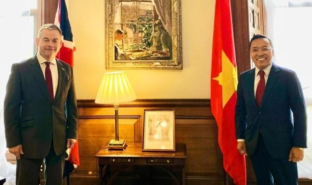 British diplomat rejoices at development of UK-Vietnam ties hinh anh 1