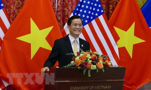 Vietnam, US look to boost comprehensive partnership hinh anh 1