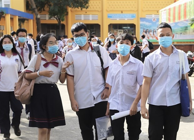 HCM City to hold national high school graduation exam as scheduled hinh anh 1