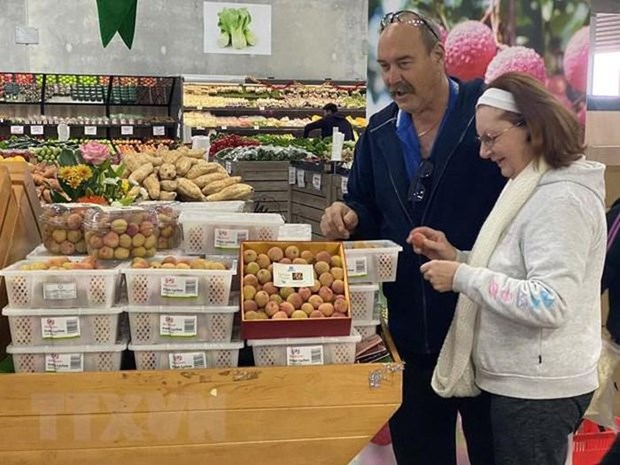 Vietnamese lychees hit shelves in Belgium hinh anh 1