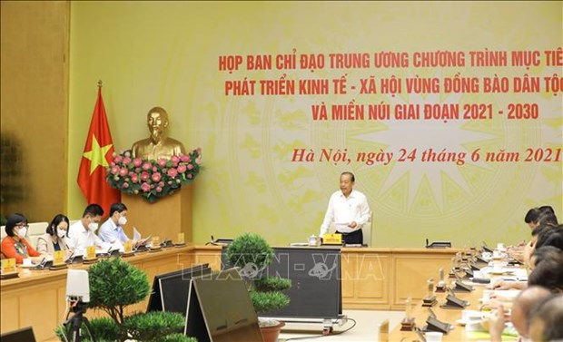 Vietnam striving to raise living standards of ethnic minority groups hinh anh 1