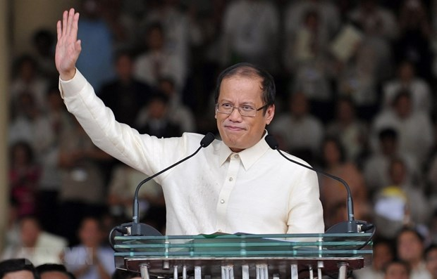 Philippines declares 10-day national mourning for former President hinh anh 1