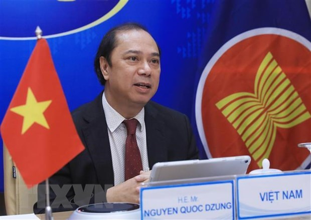 Senior officials laud progress in EAS cooperation hinh anh 1
