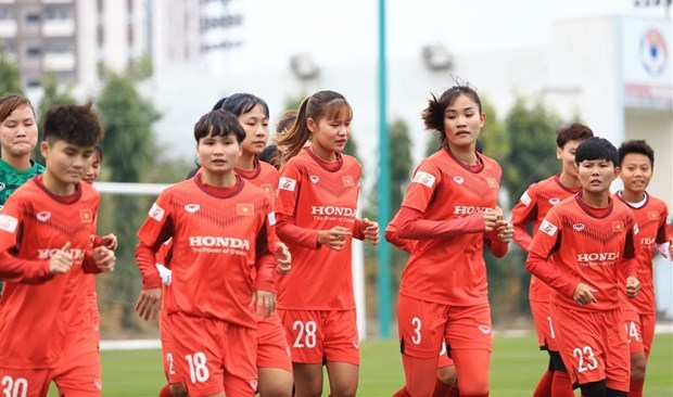 Women's ASIAN Cup 2022 qualifers: Vietnam in same group with Tajikistan, Maldives, Afghanistan hinh anh 1