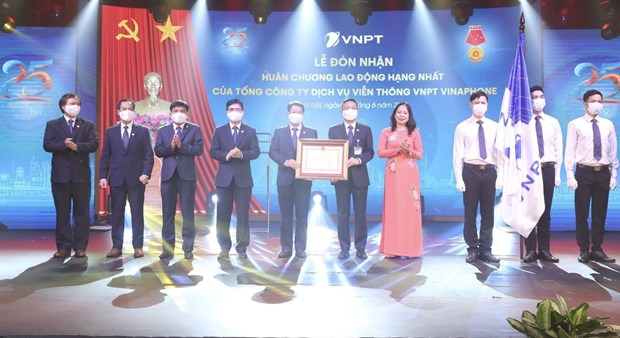 VNPT – VinaPhone awarded first-class Labour Order hinh anh 1