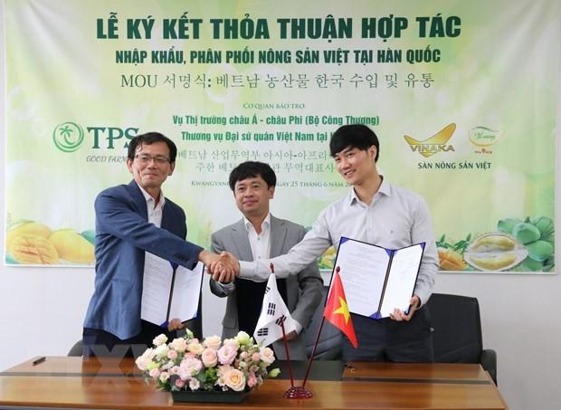 Vietnamese farm produce popularised in RoK hinh anh 1