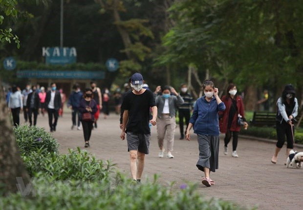 Hanoi allows outdoor physical, sport activities from June 26 hinh anh 1