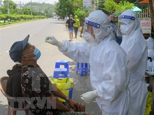 Vietnam records another 123 COVID-19 cases on June 26 afternoon hinh anh 1