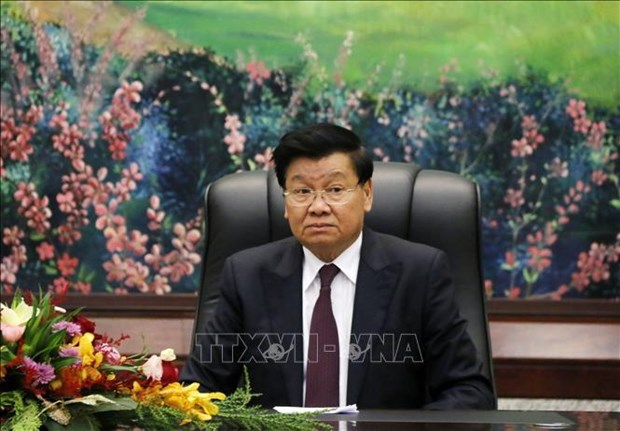 Top Lao leader's Vietnam visit crucial to bilateral great friendship hinh anh 1