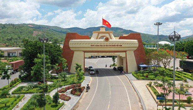 Vietnam, Laos enjoy flourishing trade ties hinh anh 1