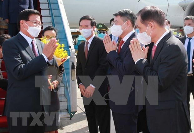 Top Lao leader visit to Vietnam to deepen cooperation in all fields: Ambassador hinh anh 1