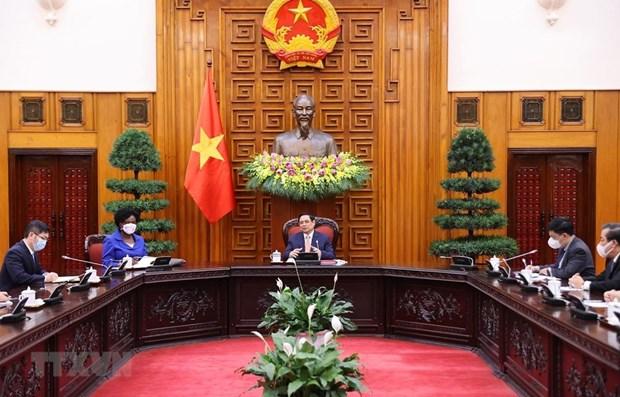 WB always contributes to Vietnam's socio-economic development: PM hinh anh 1