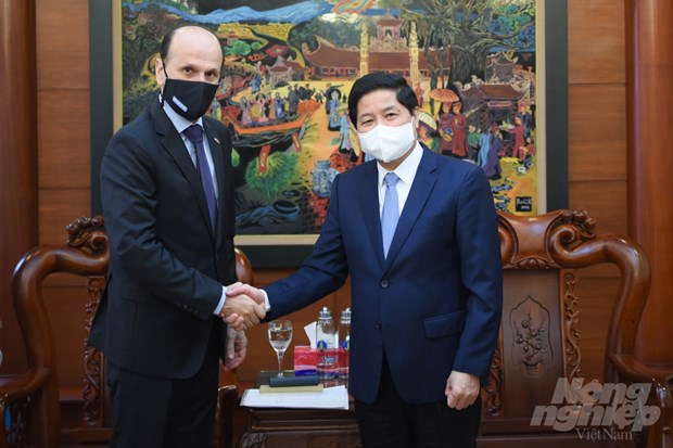 Argentina interested in Vietnamese tropical fruits: ambassador hinh anh 1