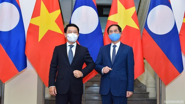Foreign Minister Bui Thanh Son hosts Lao counterpart hinh anh 1