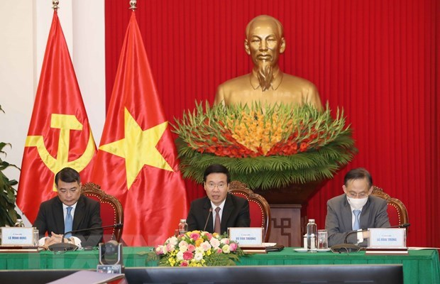 Vietnam attends round-table conference of Russia-ASEAN political parties hinh anh 1