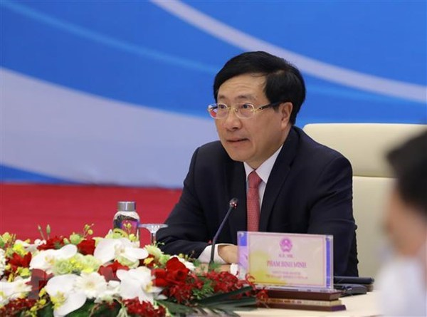 Business community plays important role in Vietnam-US ties: Deputy PM hinh anh 1