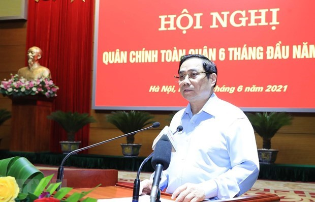 Military makes great contributions to national achievements: PM hinh anh 1