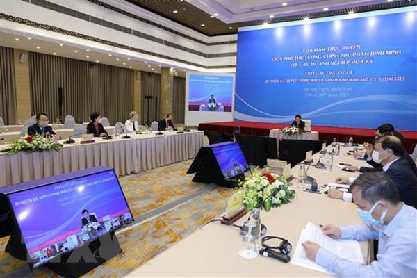 Business community plays important role in Vietnam-US ties: Deputy PM hinh anh 2