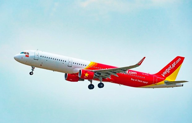 Vietjet sets 2021 revenue target of 945 million USD this year hinh anh 1