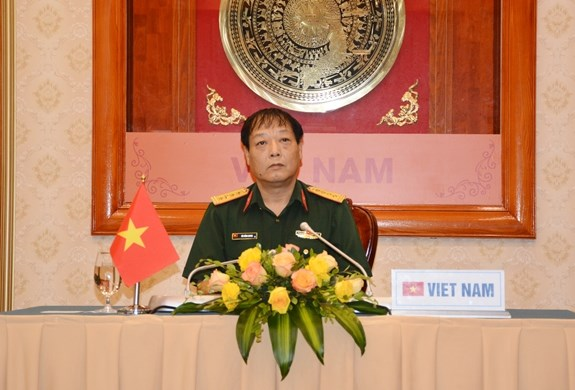 Vietnam attends virtual meeting of Int'l Military Sports Council in Asia hinh anh 1