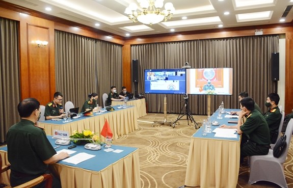 Vietnam attends virtual meeting of Int'l Military Sports Council in Asia hinh anh 2