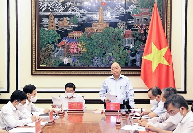 President, experts discuss building law-governed socialist State hinh anh 1