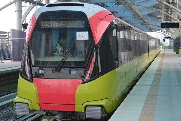 Hanoi urban metro line's elevated section commissioned hinh anh 3